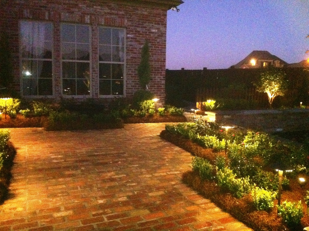 Outdoor Lighting, Greenscape Design - Baton Rouge, LA