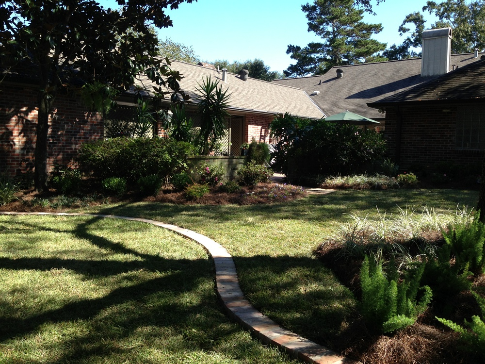 Backyard Landscaping, Greenscape Design - Baton Rouge, LA