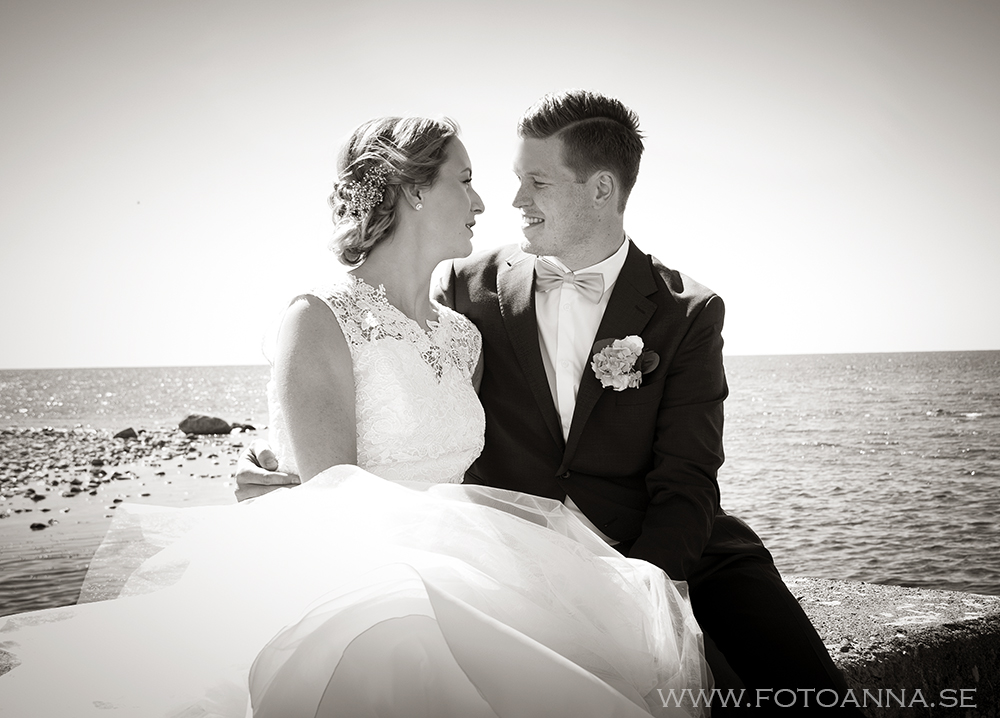 Emila Sigrén bröllopsfoto gotland