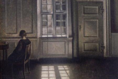 Vilhelm Hammershøin maalaus