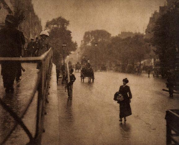 Alfred Stieglitzin valokuva vuodelta 1911