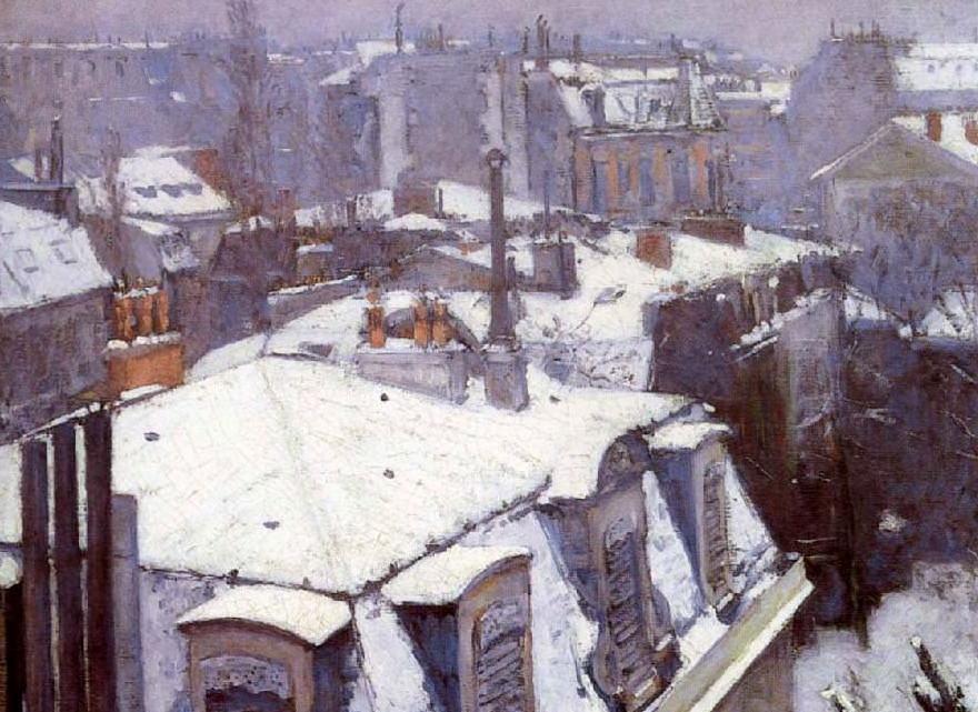 Gustave Caillebotten maalaus vuodelta 1879