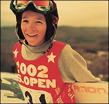 Luke Mitrani age 12, US Open, Stratton, VT, 2002