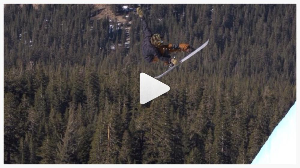 Danny Davis - Switch Snowboarding - Mammoth Lakes, CA - 1/17/2014