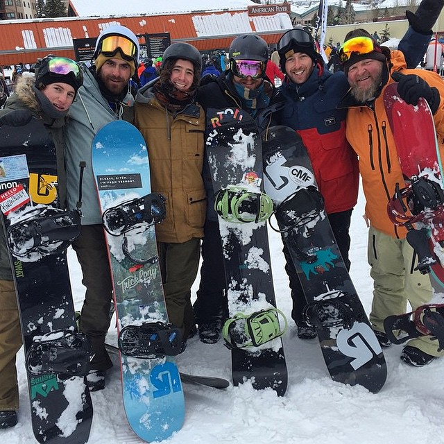 Legendary day with the crew! Thanks @burtonsnowboards for another epic adventure. #thankyousnowboarding #livefrendly