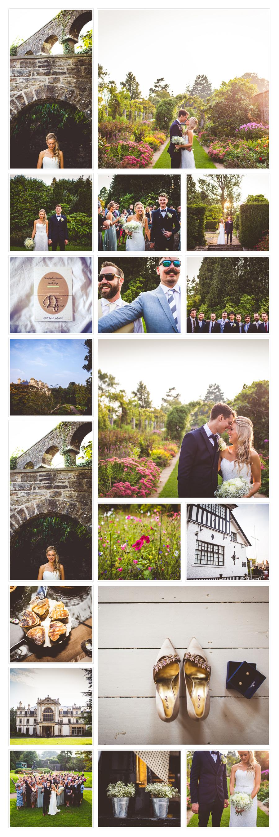 Wedding at Dyffryn House and Gardens, near Cardiff, South Wales