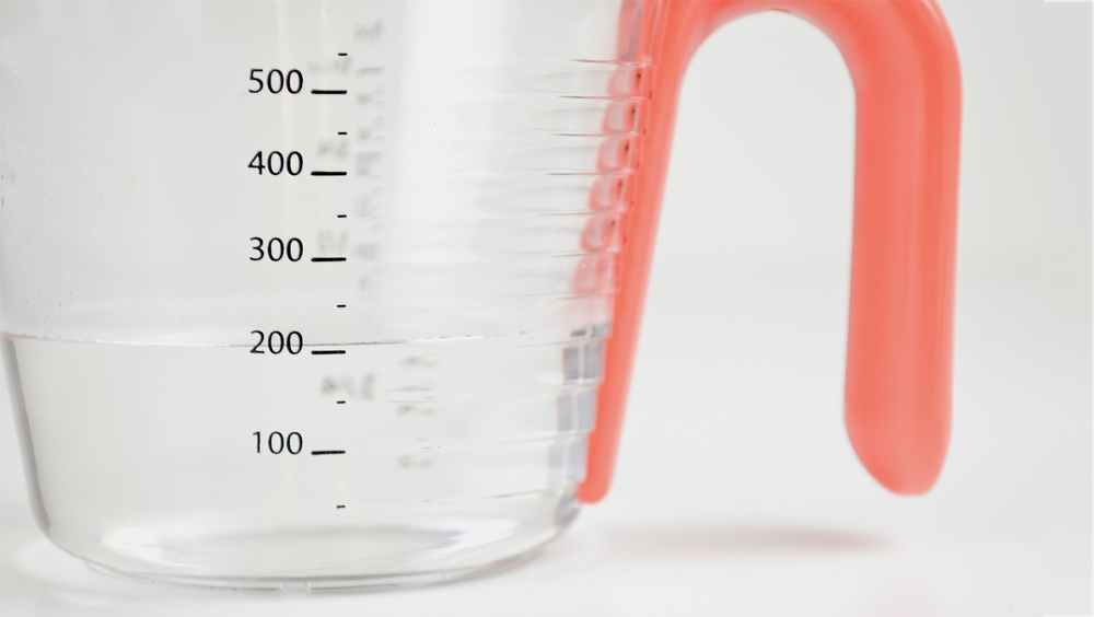 Venn Measuring Jug Ribbed Measurements