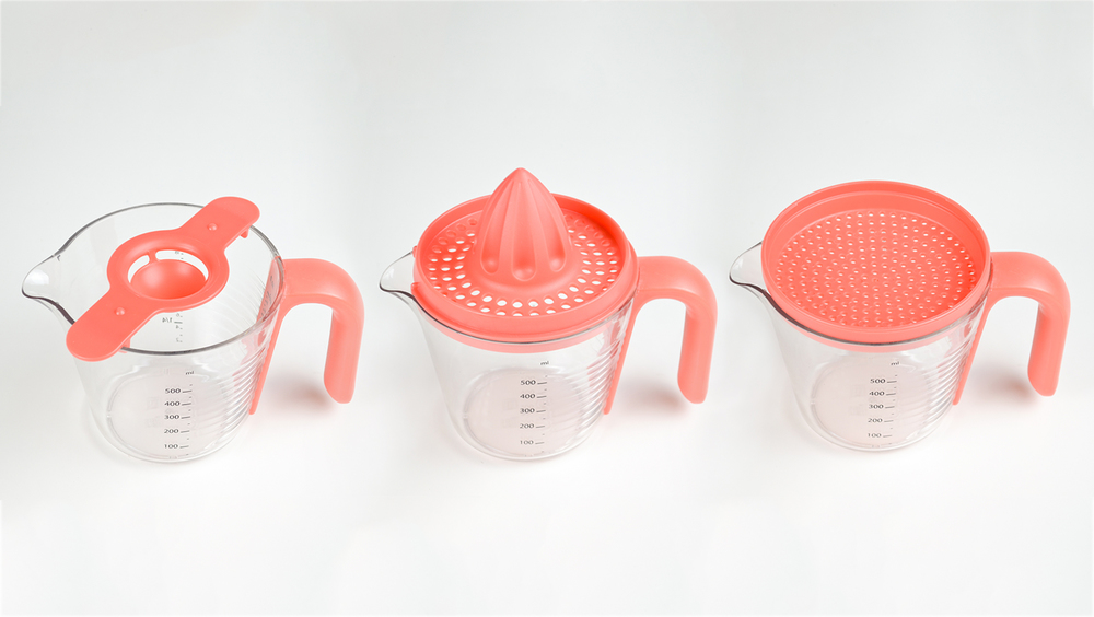 Egg Separator, Lemon Squeezer and Gravy Strainer Set