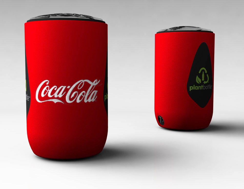 Coca-Cola ice barrel