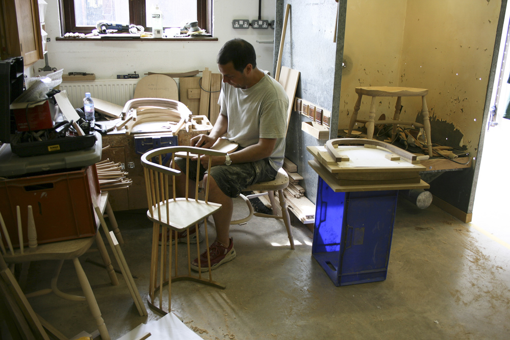 Making chair