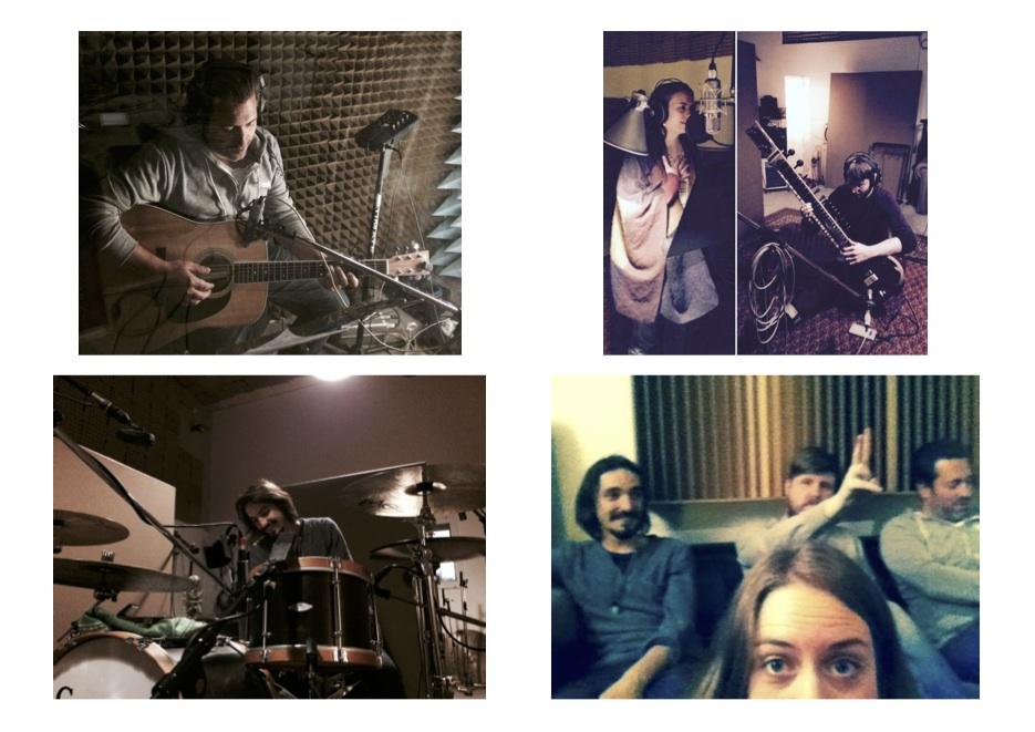 Recording Session at Soma Studios, April/May 2016