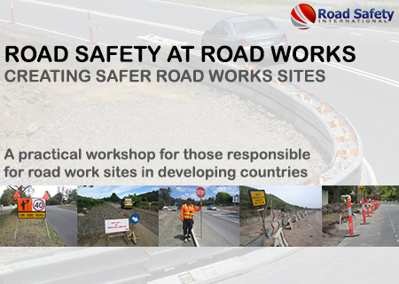 """Road Safety at Road Works""  - Bali, Sept 2014"
