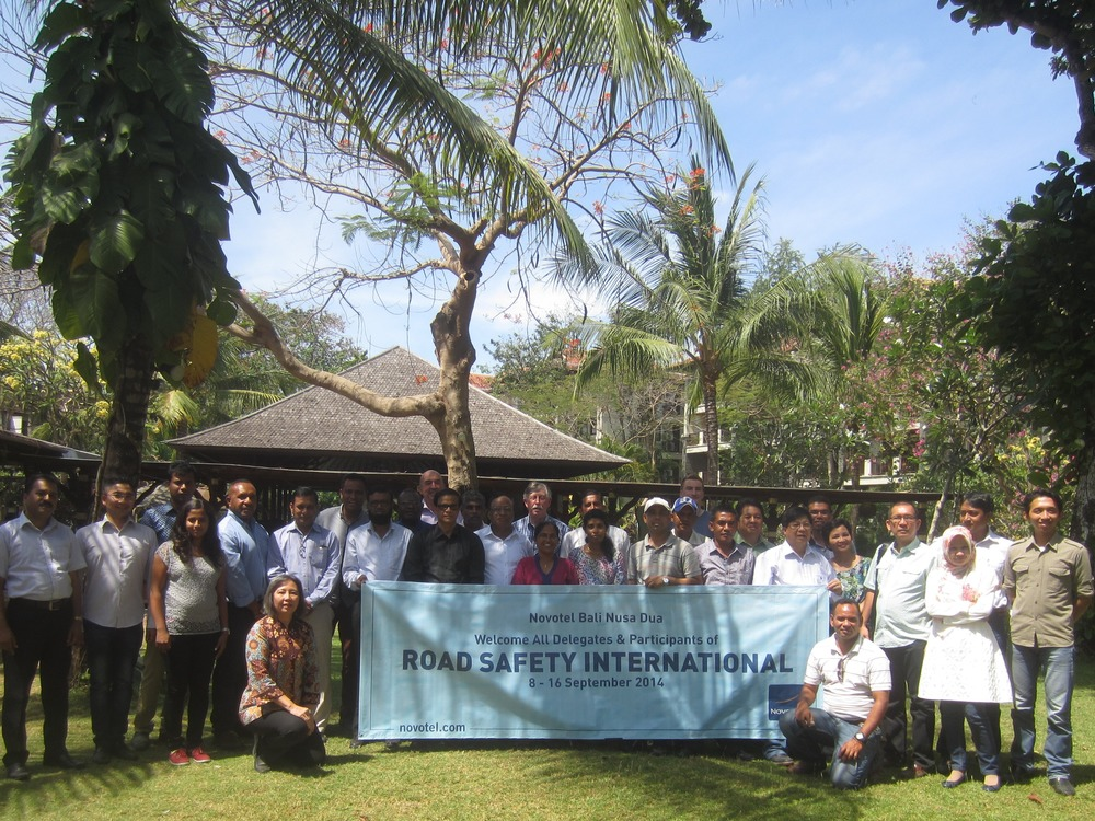 """Road Safety Engineering"" workshop - Bali, September 2014"