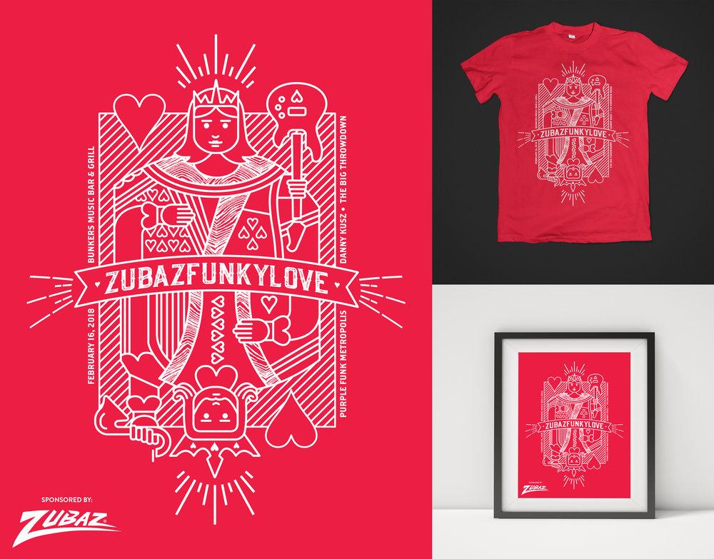Concert Poster & T-Shirt Design