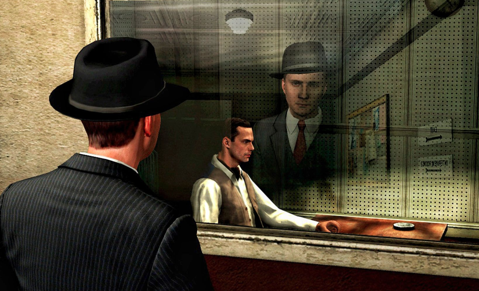Is he lying or is he telling the truth? Only one way to find out - ask. Photo: Rockstar Games