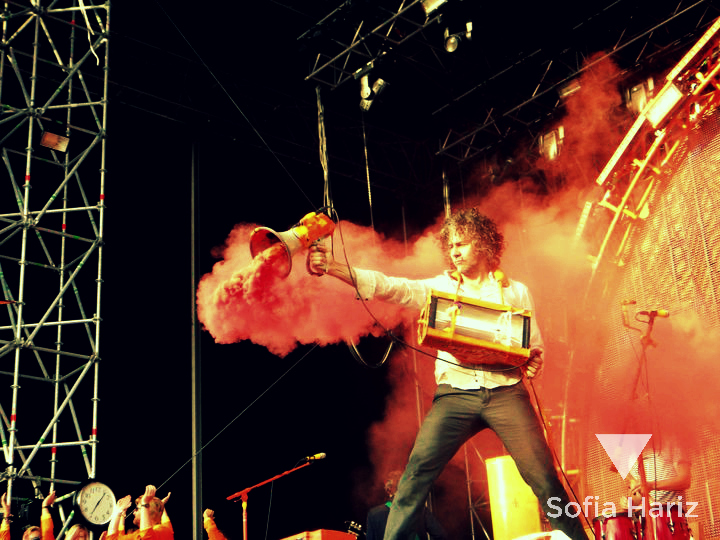 Wayne Coyne (The Flaming Lips) - Øya Festival, Norway