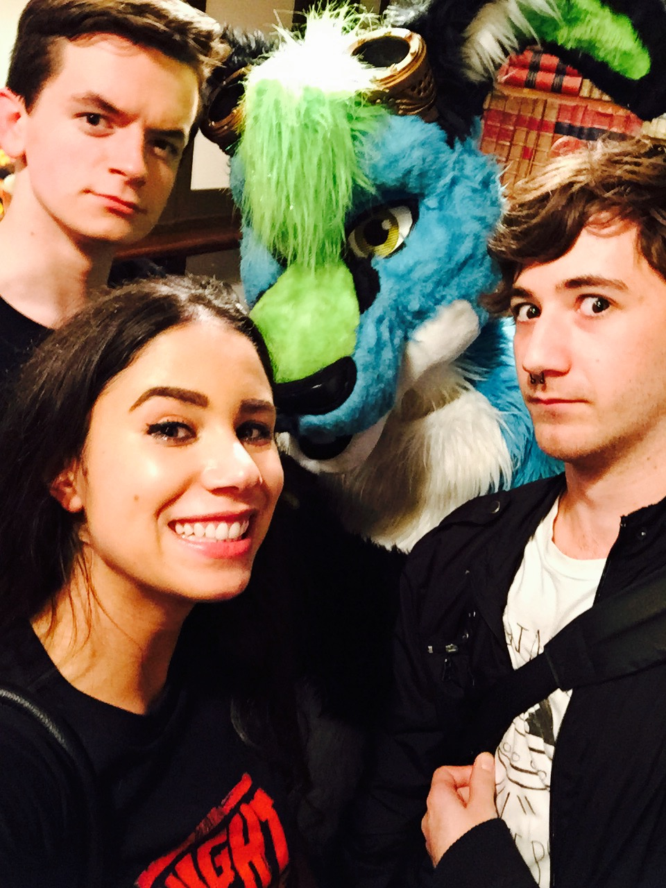 No party like a Rooster Teeth party with good friends, massive bunny-creatures,...