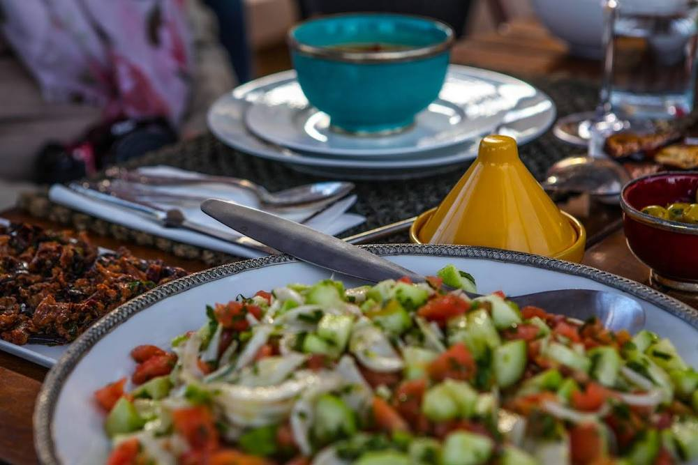 La table du Riad Anata @JB Friquet