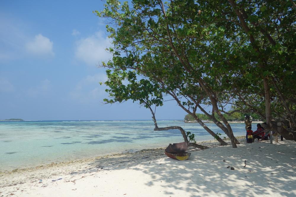 quelque part aux Maldives