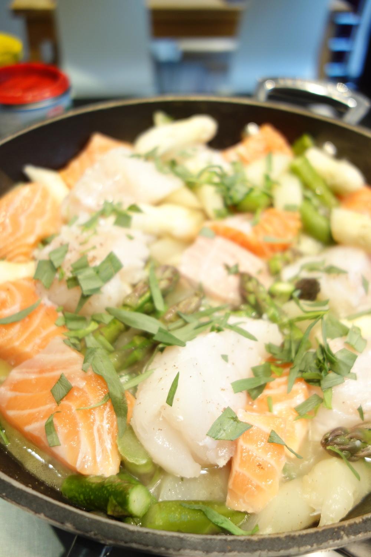 avant la cuisson