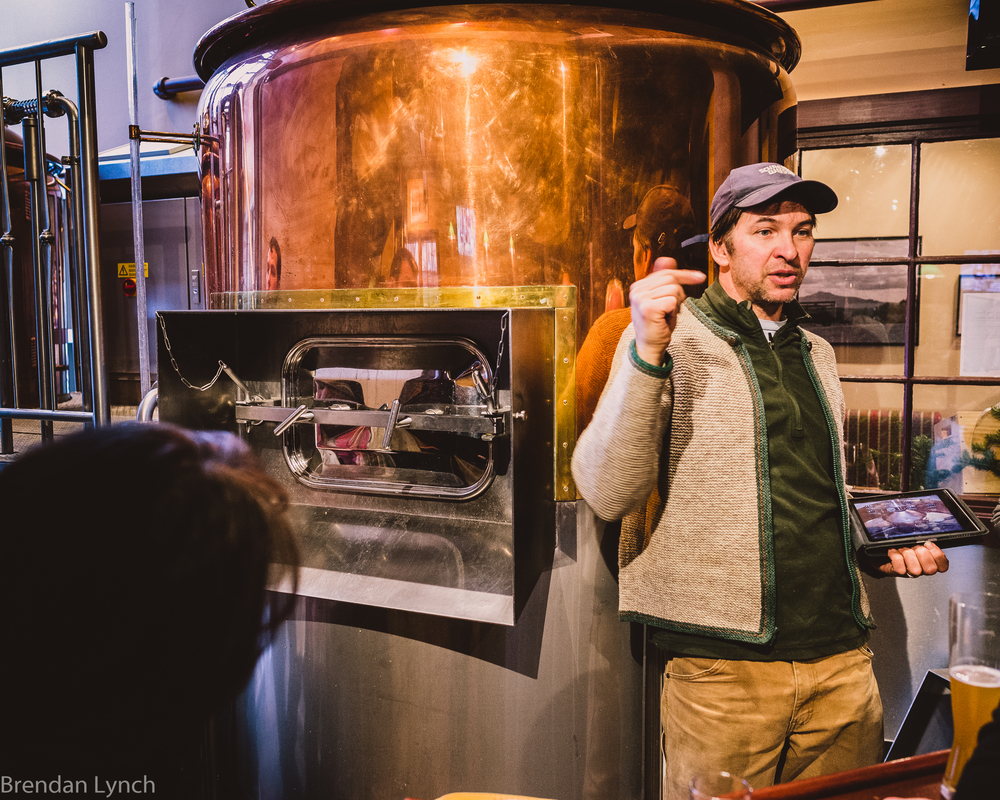 Wil Gilson. Brewmaster