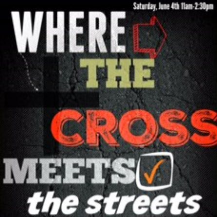 """Where the Cross Meets the Streets"" compassion is demonstrated, injustice is confronted, restoration & renewal hits marginalized neighborhoods , & the Good News is proclaimed! On June 4th the Drum Majors Alliance will partner with Love Out Loud to do a workshop version of 'Where the Cross Meets the Streets"". In addition to the panel discussion we did during the Holy Week of Resistance, we will have breakouts, group activities, & go more in depth on important topics!  The aim of this workshop is to bring together ""justice-minded"" people and organizations with  ""evangelistic & charity minded"" people and organizations to equip ""the whole church, yes, the whole church, to take a whole gospel on a whole mission to the whole world!""  --John Perkins This is a FREE event which will be held at Redeemer Presbyterian Church. Link to RSVP: https://www.eventbrite.com/e/where-the-cross-meets-the-streets-tickets-25245668474"