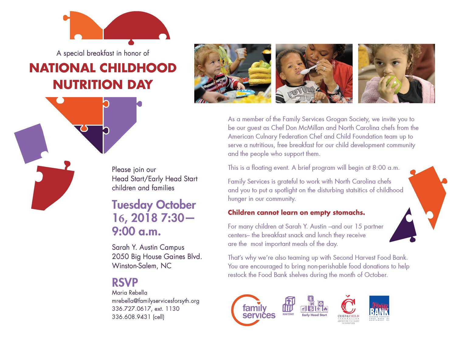 National Childhood Nutrition Day Breakfast — Love Out Loud