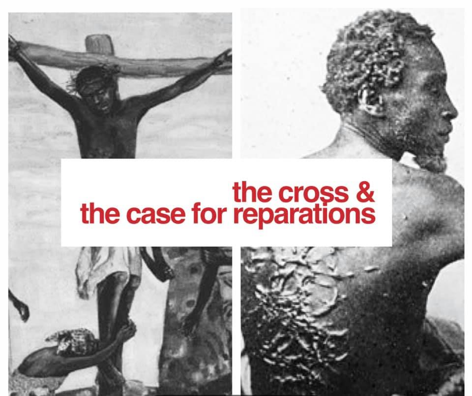 """In 1619–exactly 400 years ago—the brutal, shameful, & sinful Transatlantic slave trade began. Millions upon millions of image-of-God bearing African peoples were enslaved, exploited, abused, raped, dehumanized, & killed in its wake. Though 400 years removed from its inception, the U.S. has yet to truly confront the legacy of chattel slavery & as a result we are haunted by its after-life. Where do we go from here?  How do we heal? How does a nation repair irreparable damage?   What, if anything, does The Cross have to do with the idea of reparations? In this strange  socio-political moment in which """"reparations"""" is on the lips of  so many, what do we learn from """"the mouth""""  of Jesus, the Prophets, & the Torah? Join the Drum Majors Alliance on Thursday April 18th @ 7pm for a panel discussion exploring these pressing questions."""