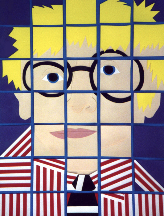 David Hockney (Polaroid Series)