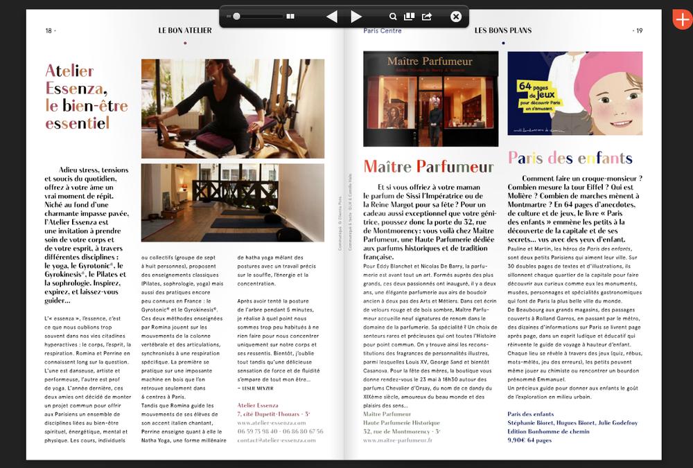 En page 18 de l'édition de Mai 2014 du BONBON