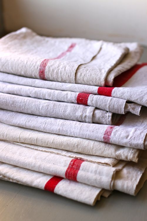 Vintage French linens