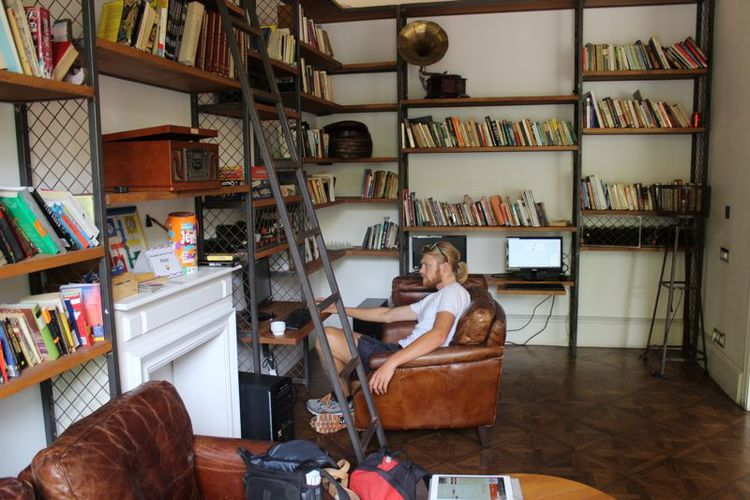 Hostel library