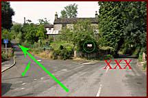 Turn up Losehill Lane
