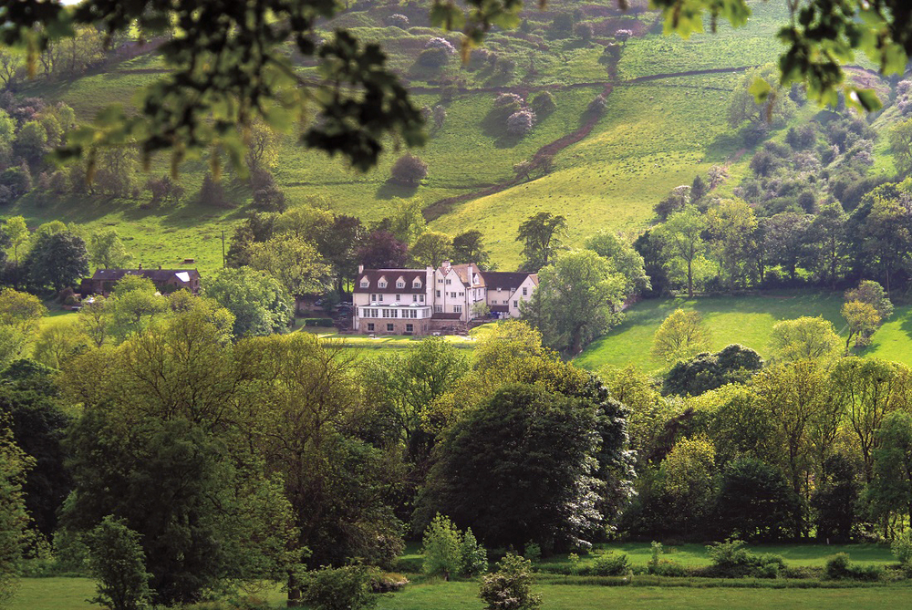Peak District views at Losehill House Hotel and Spa