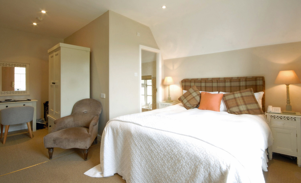 Boutique rooms at Losehill House Hotel and Spa