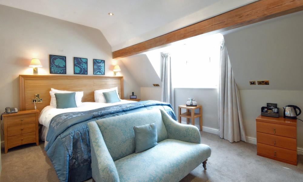 Luxury bedrooms at Losehill House Hotel and Spa