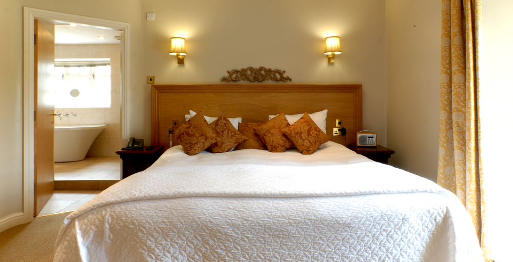 The bridal suite at Losehill House Hotel and Spa