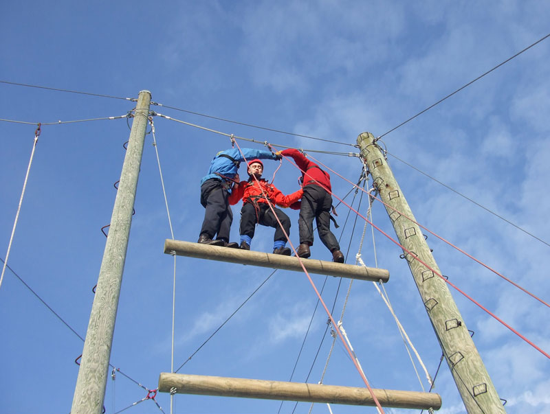 peak district explore high ropes derbyshire