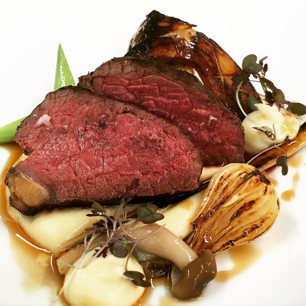 Bbq sirloin, parsnip, smoked Wensleydale, grelot, King oyster mushroom (February).PNG