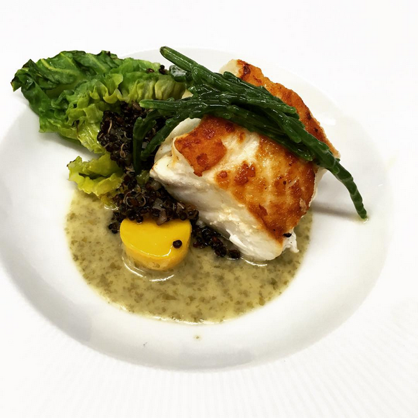 Halibut, black quinoa, gem, seaweed beurre blanc (May).PNG