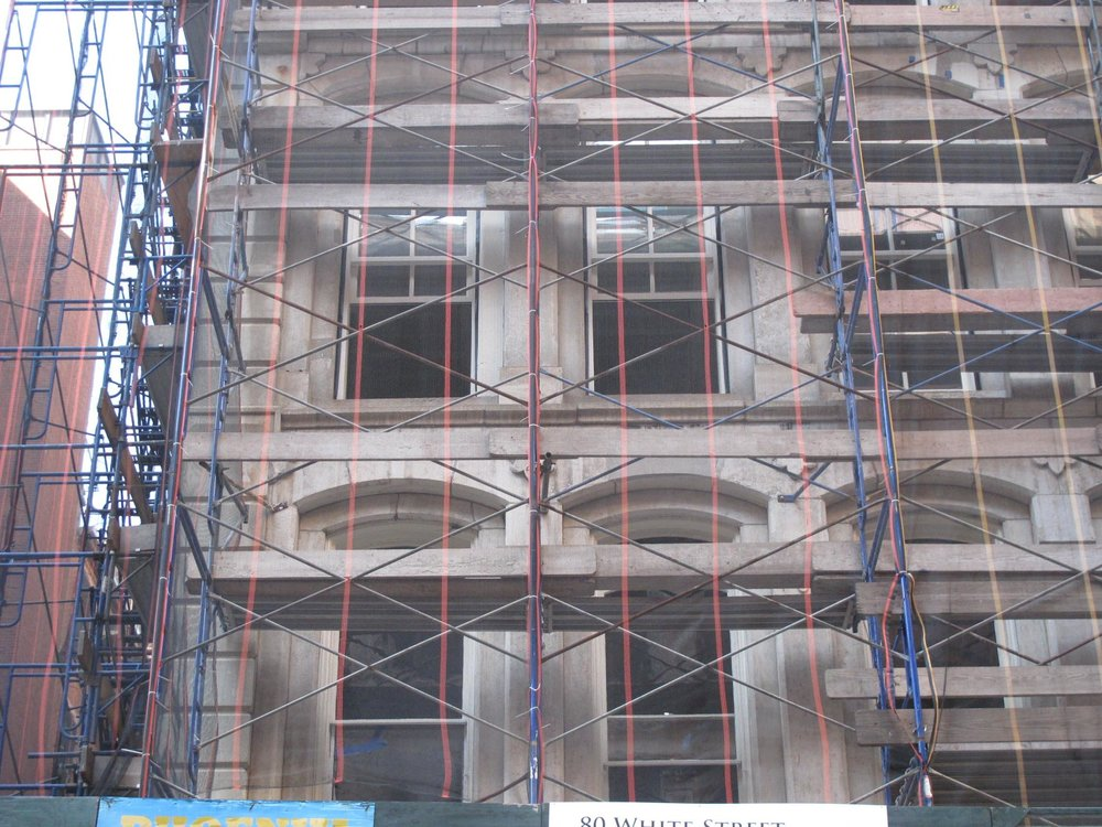 80 White Street New York, NY FSI's extensive building restoration continues.