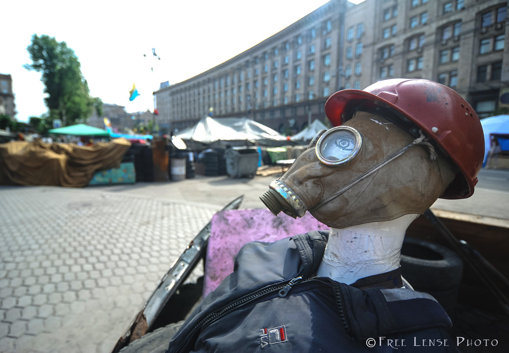 'Maidan' , Downtown Kyiv, May 17, 2014