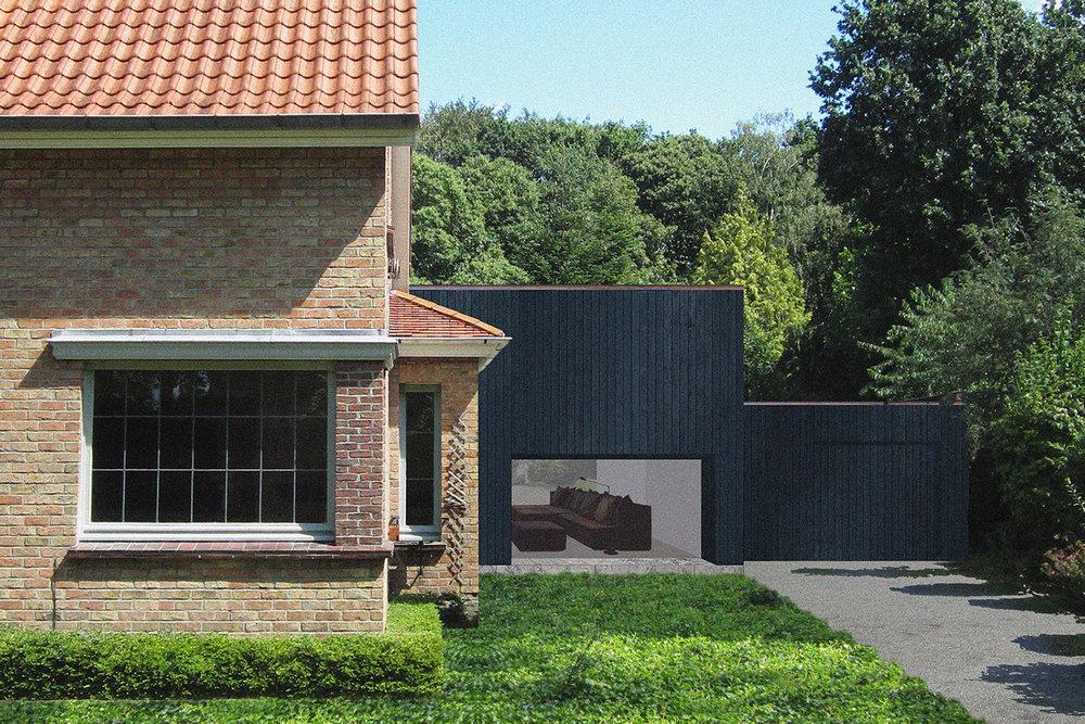 VAN GELDER TILLEMAN architecten - woning V-V
