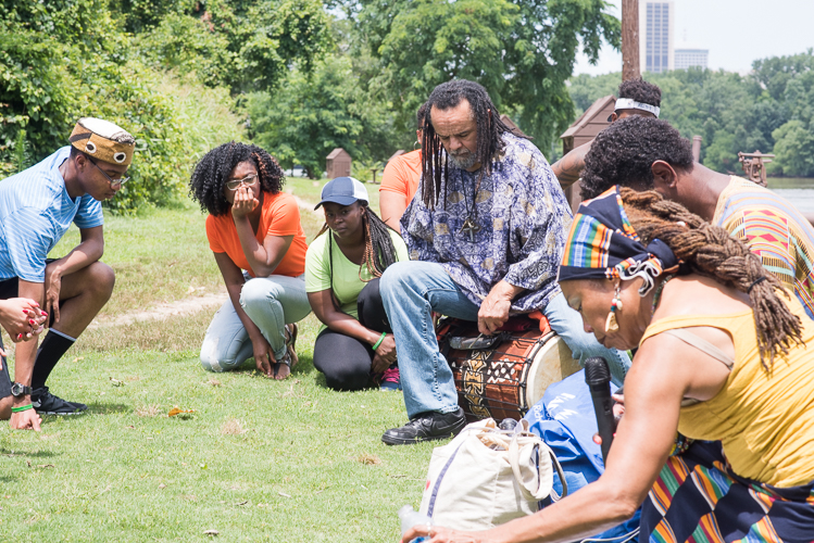 Trail of Enslaved Africans Tour with Elegba Folklore Society