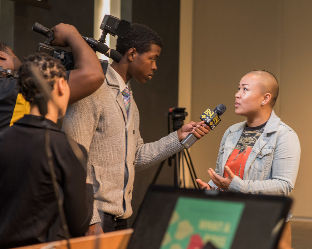 BSU TV captured the event.