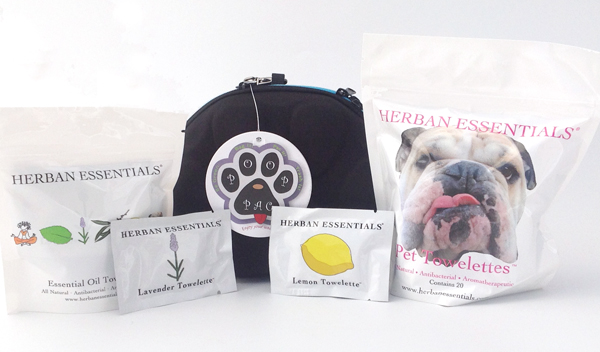 PoopPac Herban Essentials Dog Wipes