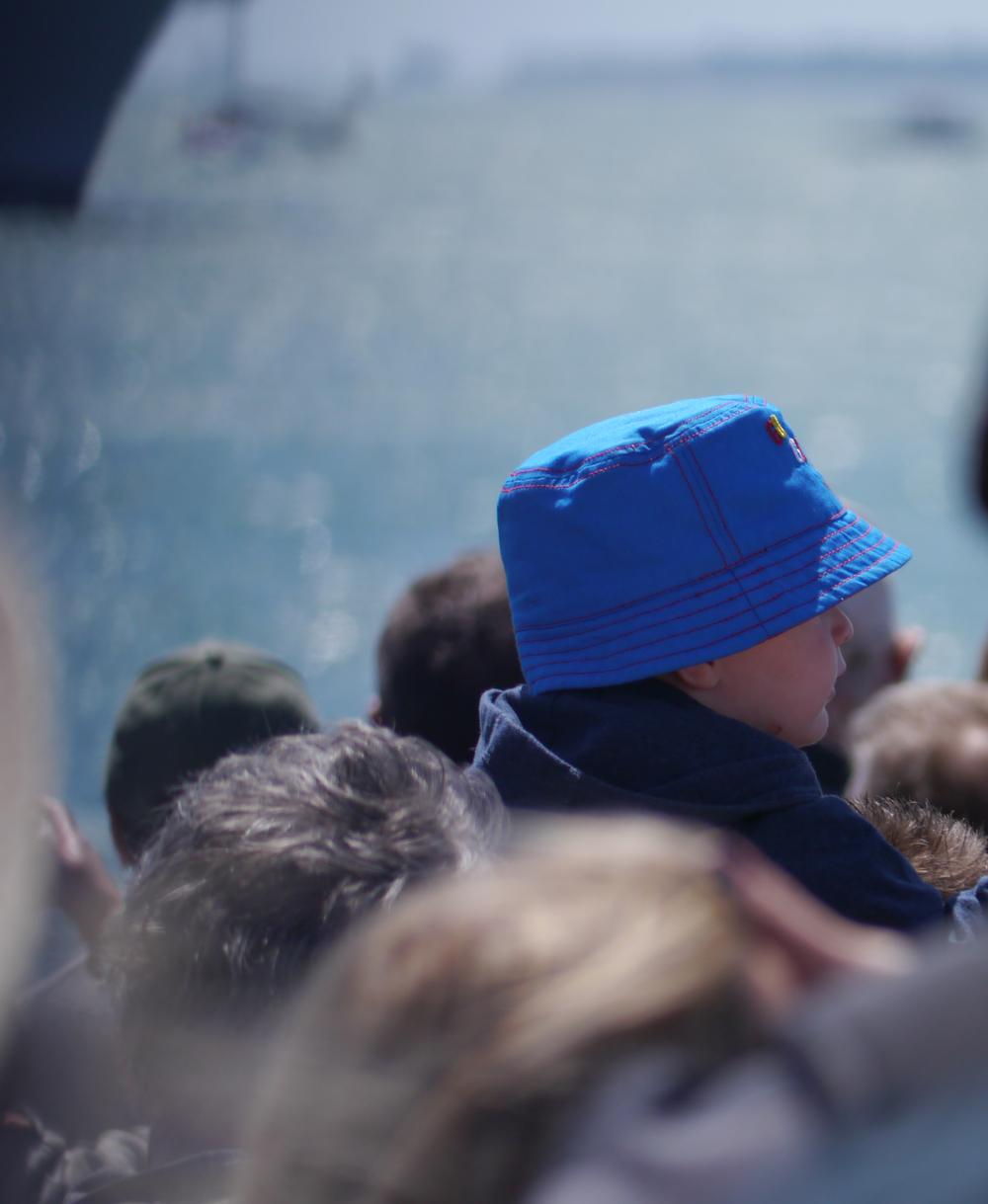 D-Day 70 Pompey blue hat