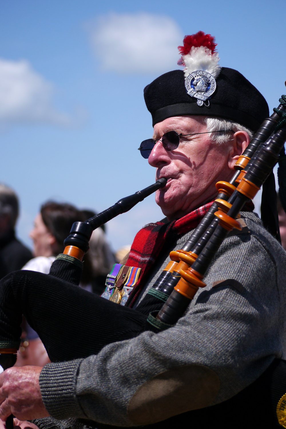 D-Day 70 Bagpipes