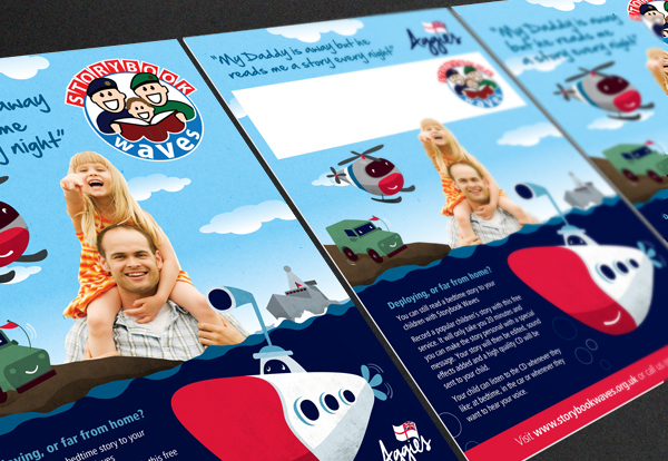 Flyers for Storybook Waves Charity