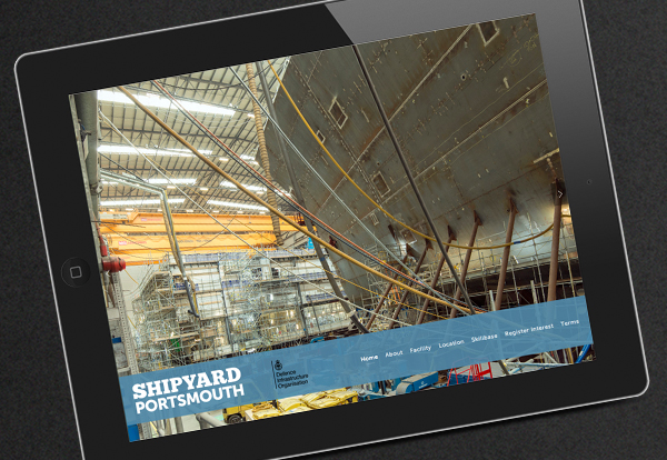 Web site for Shipyard